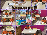 Sightseeing tour of the USA